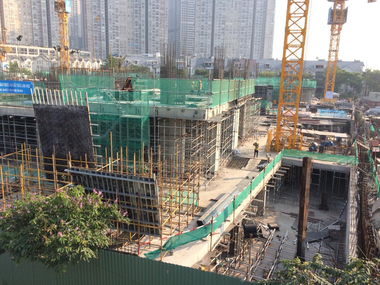 [Tháng 01/2018] Cập nhật tiến độ dự án Sunwah Pearl