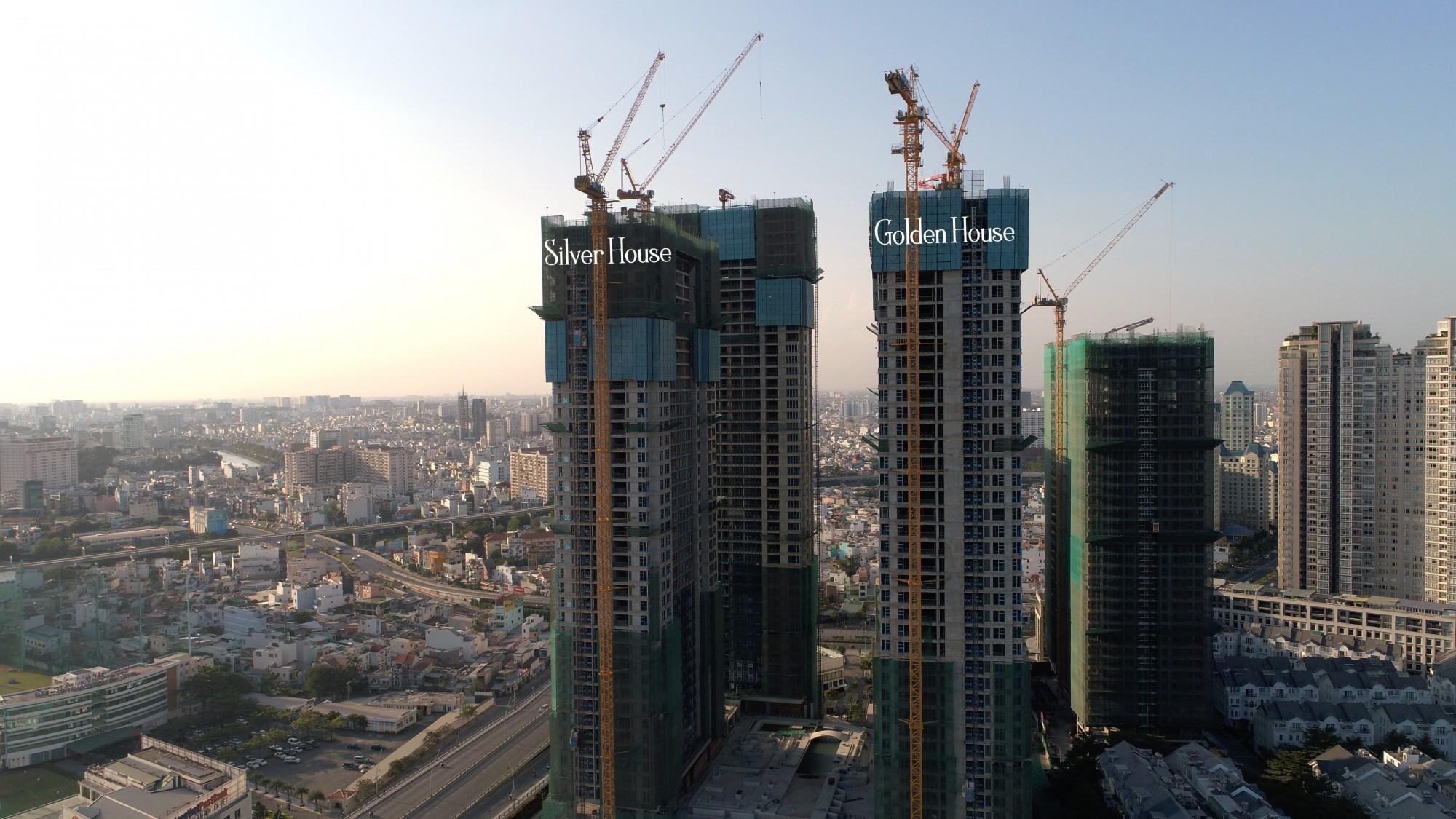 [Tháng 2/2019] Cập nhật tiến độ dự án Sunwah Pearl